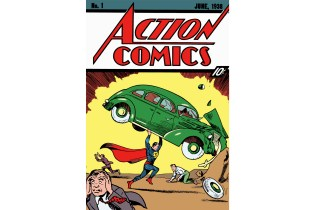 The Comic That Introduced Superman Sold for the Price of a Rare Ferrari