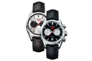 TAG Heuer Releases the Carrera Calibre 17 Panda in Silver & Black