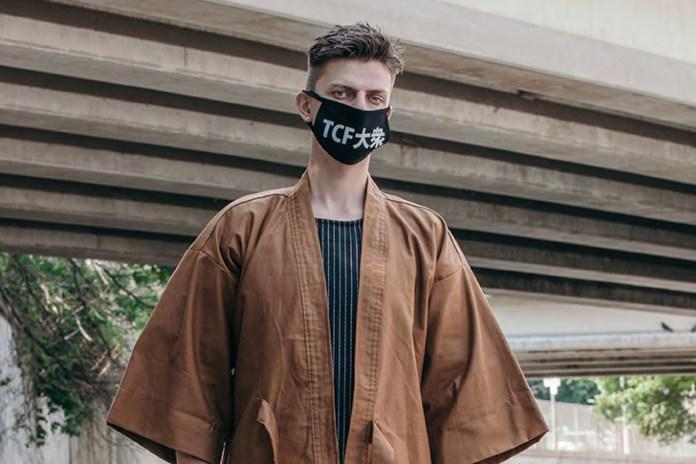 The Common-Folk's 2017 Spring/Summer Lookbook Presents Intricate Kimono Designs