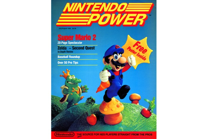 You Can Now Read the First 145 Issues of 'Nintendo Power' Online