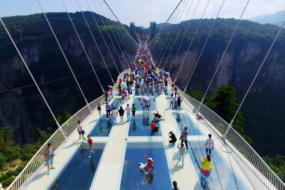 The Zhangjiajie Glass Bridge Is Now Open To The Public Hypebeast