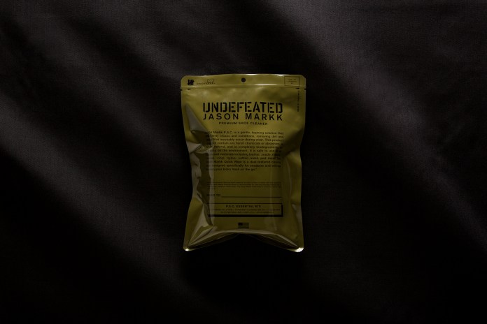 UNDEFEATED & Jason Markk Are Dropping a Limited-Edition Cleaning Kit