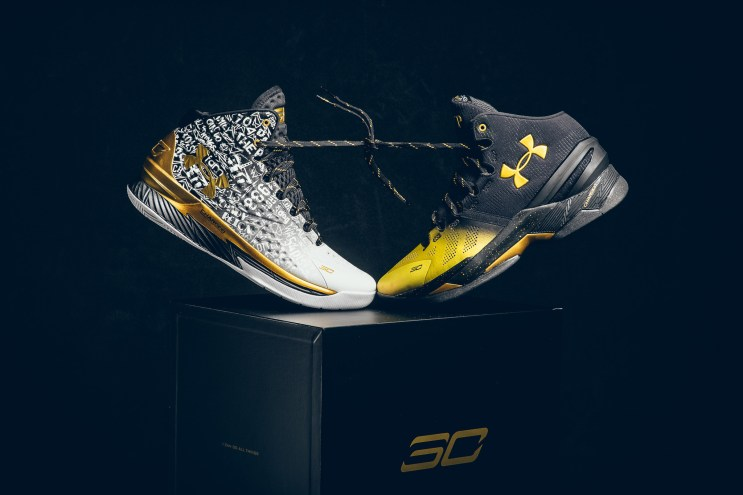 "Under Armour & Steph Curry's Special ""Back 2 Back MVP"" Pack Is Finally Here"