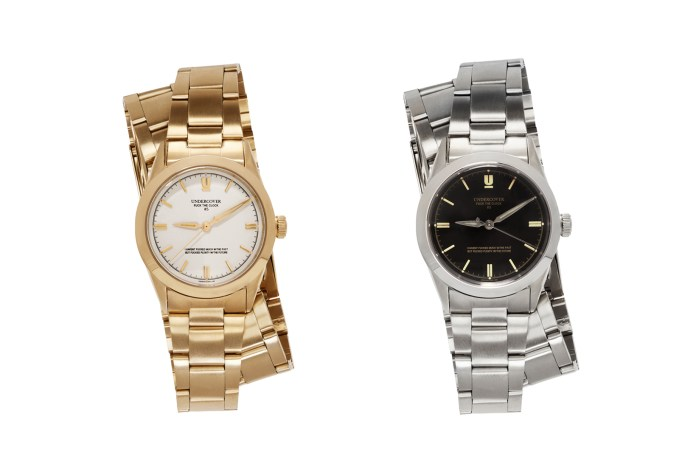 UNDERCOVER Releases a Pair of Deluxe Stainless Steel Watches