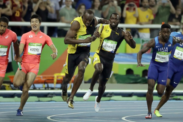 Usain Bolt Leads Jamaica to Relay Gold While Team USA Gets Disqualified