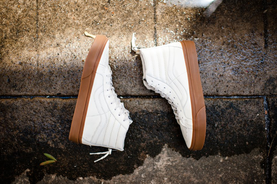 Vans Outfits the Sk8-Hi With a Gum Sole