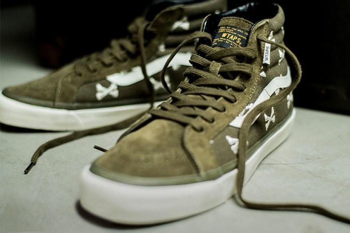 A Closer Look at the WTAPS x Vans Vault Collection