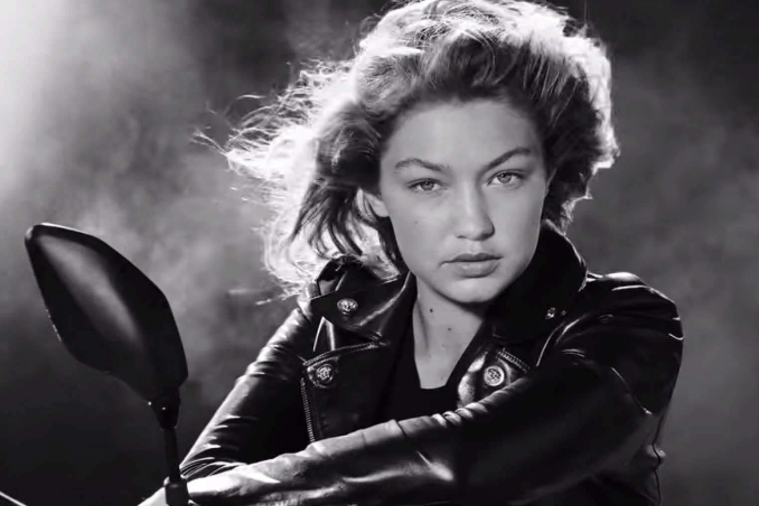 "Versace Unveils a Sultry Film for Its ""Dylan Blue"" Men's Fragrance Starring Gigi Hadid"