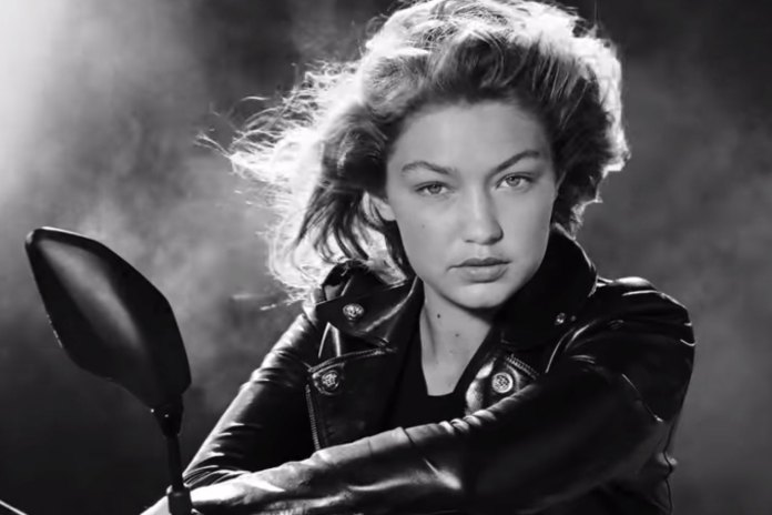 """Versace Unveils a Sultry Film for Its """"Dylan Blue"""" Men's Fragrance Starring Gigi Hadid"""