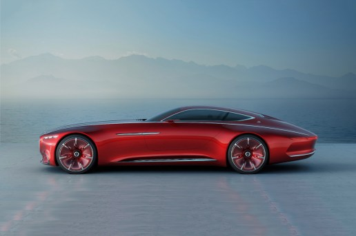 The Vision Mercedes-Maybach 6 Is Here