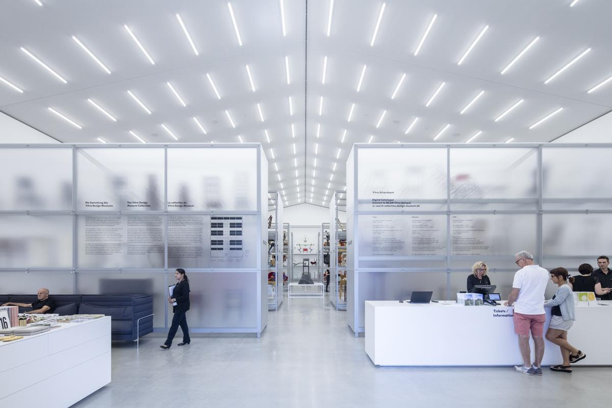 A Look Inside the Herzog & de Meuron-Designed Vitra Schaudepot