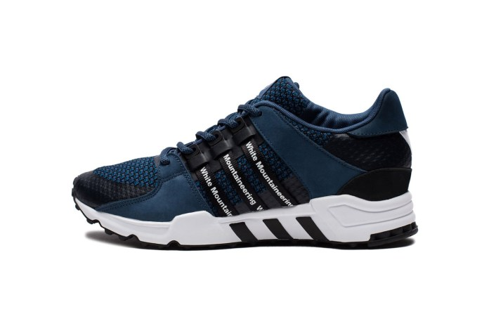 "White Mountaineering Puts a ""Dark Marine"" Spin on the adidas Originals EQT Running Support '93"