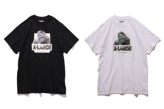XLARGE's New T-Shirts Are a Tribute to Shabani, the World's Most Handsome Gorilla
