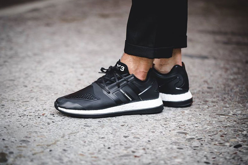 """Y-3 Unveils a """"Core Black"""" Iteration of Its Pure Boost ZG Sneaker"""