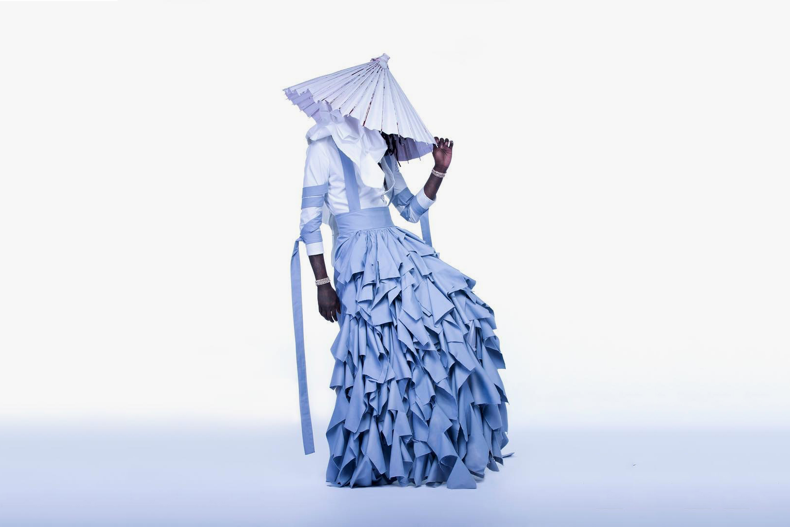 Young Thug Jeffery Periwinkle Dress - 1298065