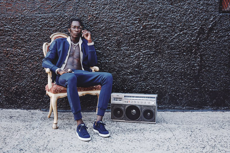 Young Thug Front Puma Campaign Hypebeast