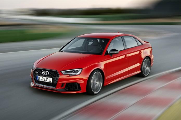 The 2018 Audi RS3 Hits Paris