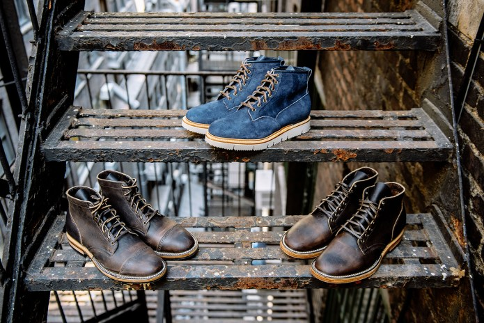 3sixteen & Viberg Drop Three Exclusive Boots for 2016 Fall/Winter