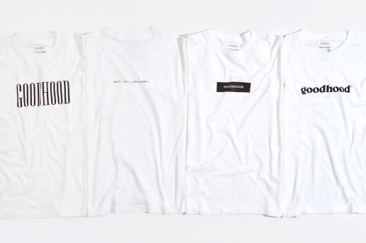 Goodhood Releases Four Limited Edition T-Shirts for 2016 Fall/Winter