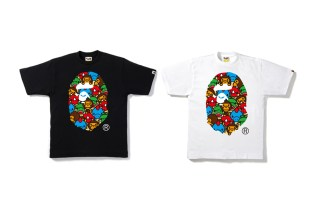 """A Bathing Ape Goes Jurassic With New """"Monster Strike"""" Collaboration"""