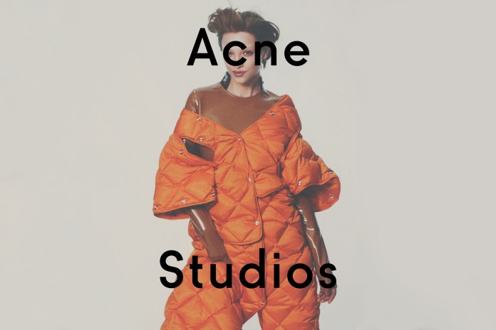 Acne Studios Looks to Photographer David Sims for Its 2016 Fall/Winter Campaign