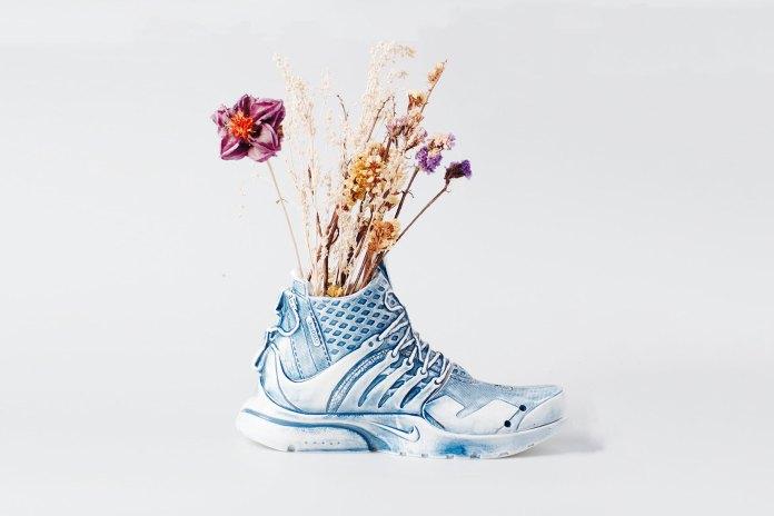 The ACRONYM x NikeLab Air Presto Mid Is Transformed Into a Ceramic Vase