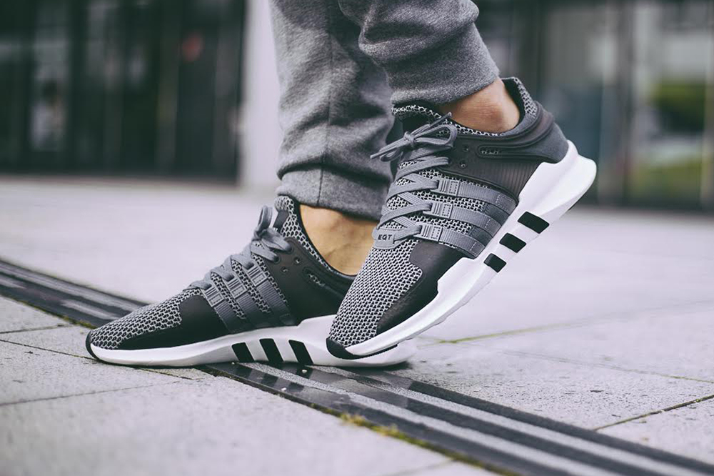 New Year's Deal on Adidas Originals EQT Joggers In Black AY9235