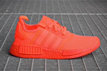 adidas's NMD R1 Takes the Tonal Route, This Time in Solar Red