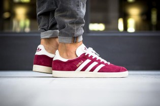 adidas Originals Pushes out a Burgundy Gazelle