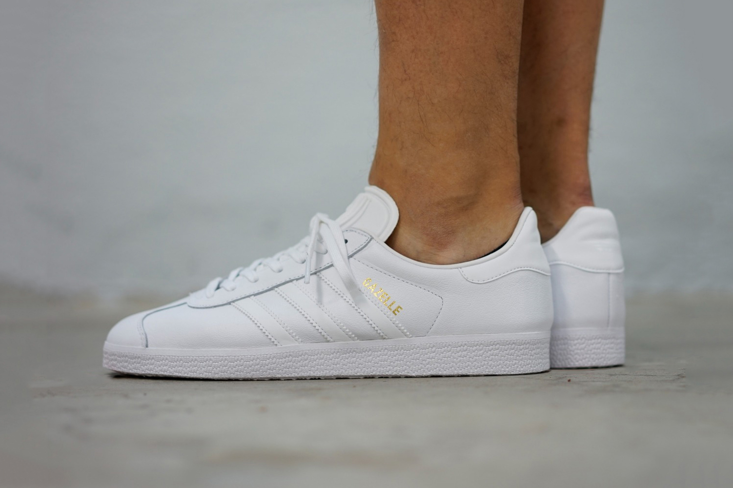 "adidas Gives the Gazelle the ""Triple White"" Treatment"