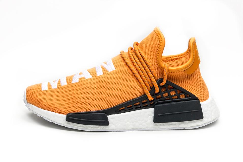 Pharrell x adidas Originals Hu NMD New Colorways black tangerine blue red - 1320708