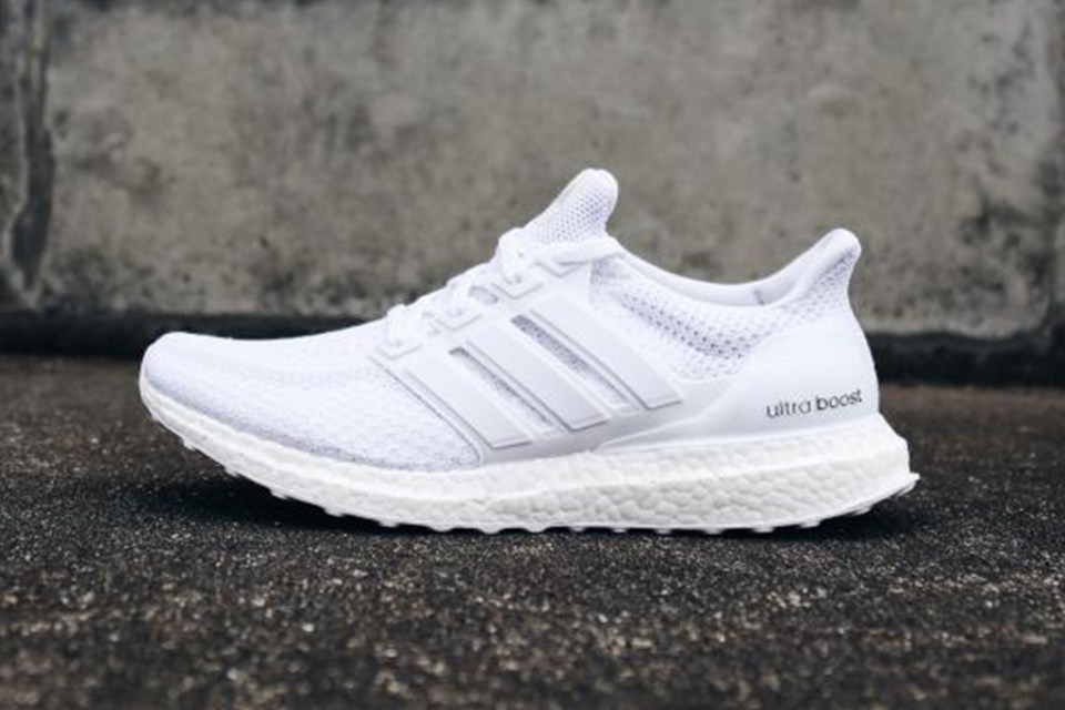 adidas ultra boost triple white restock hypebeast. Black Bedroom Furniture Sets. Home Design Ideas