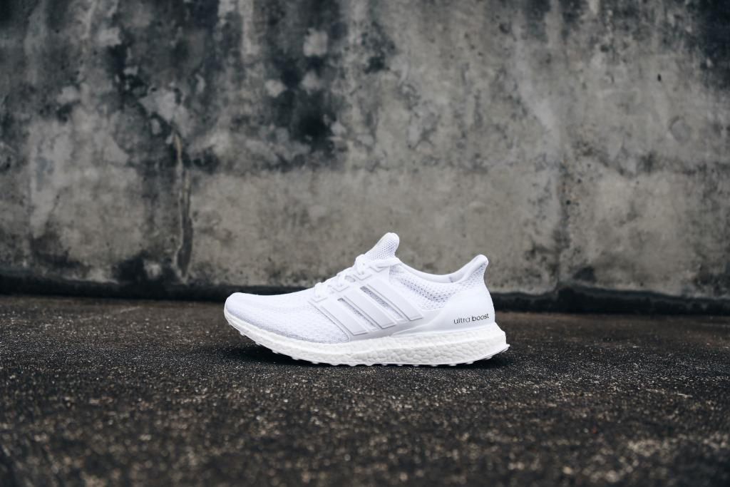 "adidas Ultra Boost ""Triple White"" Restock white last time"