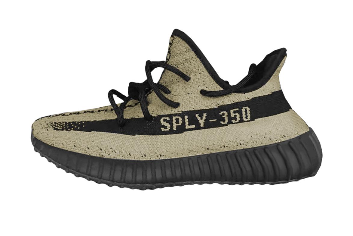 adidas YEEZY Boost 350 V2 green black kanye west HYPEBEAST