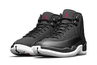 The Air Jordan 12 Retro Gets Reworked With Waterproof Black Nylon