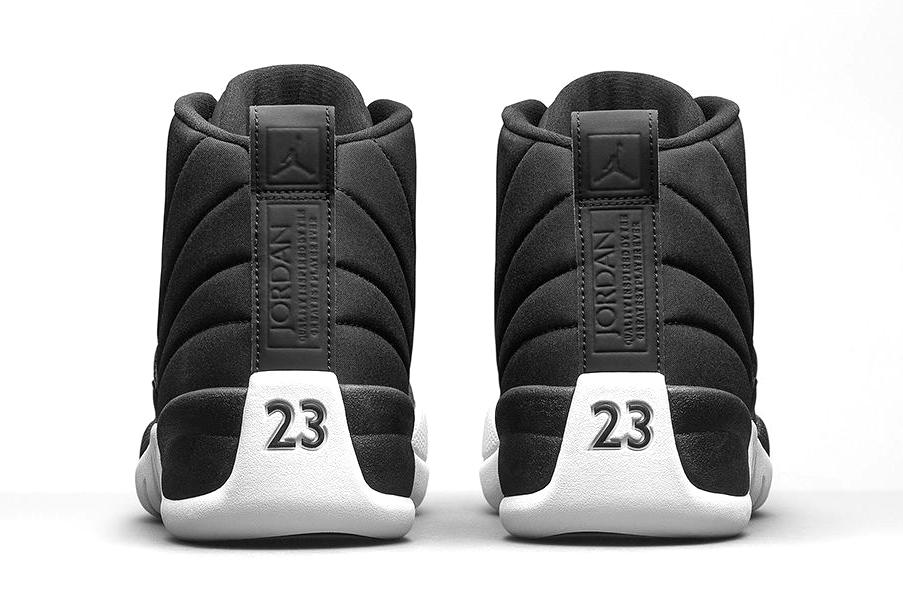 Air Jordan Black Nylon