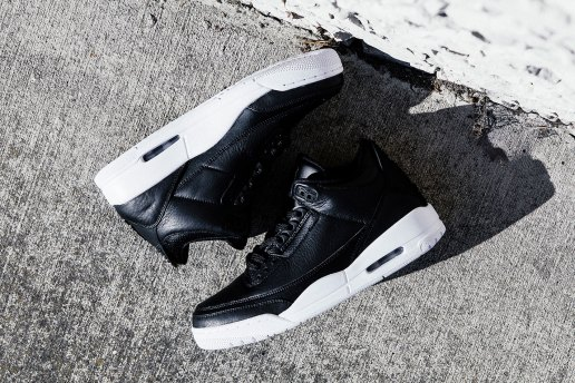 "The Air Jordan 3 ""Cyber Monday"" Sports a Simple Colorway"