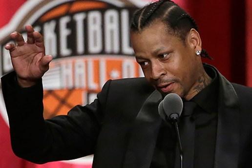 Watch Allen Iverson's Full Basketball Hall of Fame Enshrinement Speech