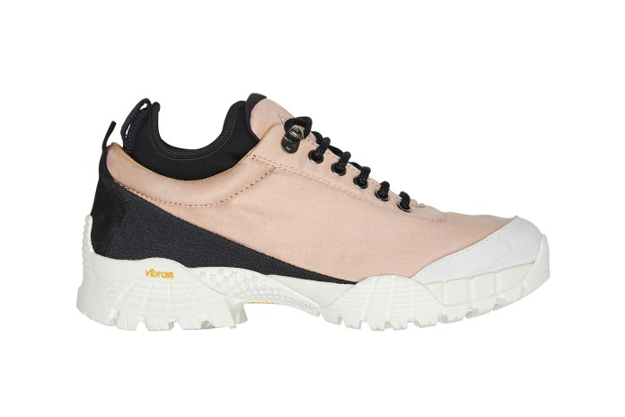 ALYX Teams up With ROA to Make Rugged and Pink Hiking Boots