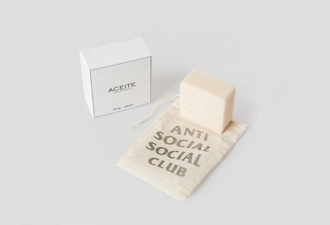 Wash Away the Sadness With Anti Social Social Club's New Bar Soap