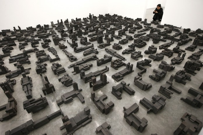 Antony Gormley Showcases His Newest Sculptural Phenomenon in Latest Exhibition