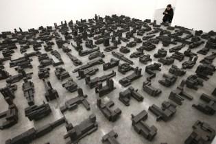 Antony Gormley Showcases His Newest Sculptural Phenomenon in Latest Exhibition