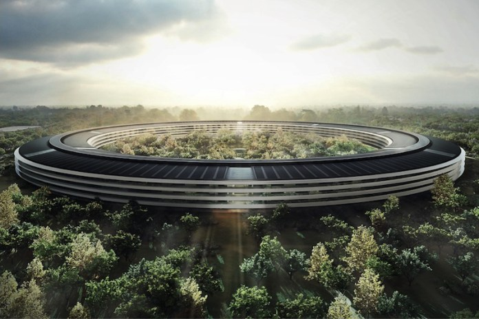 "Apple's Massive ""Spaceship"" Campus Is Nearing Completion"