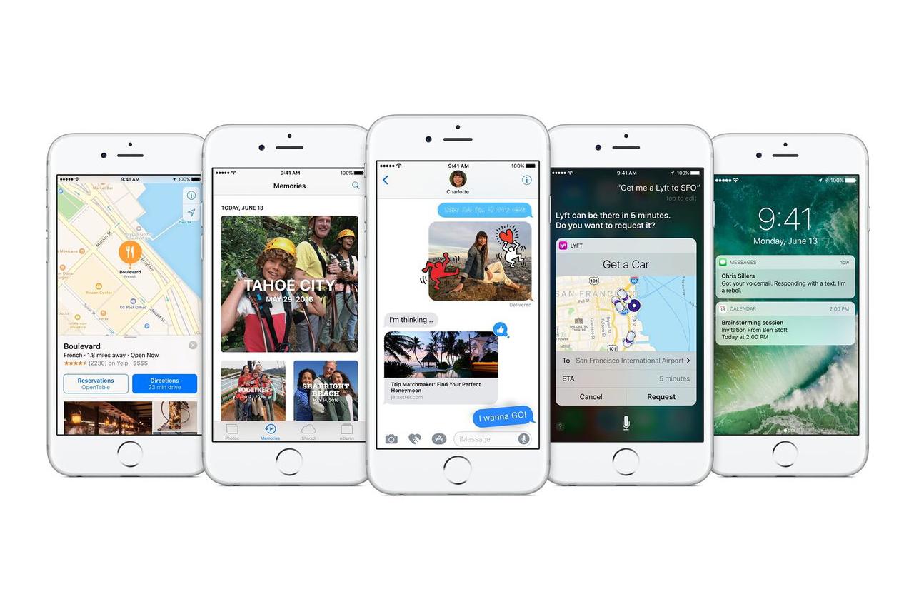 Apple's iOS 10 Arrives on September 13 iphone mac apple tim cook softwear
