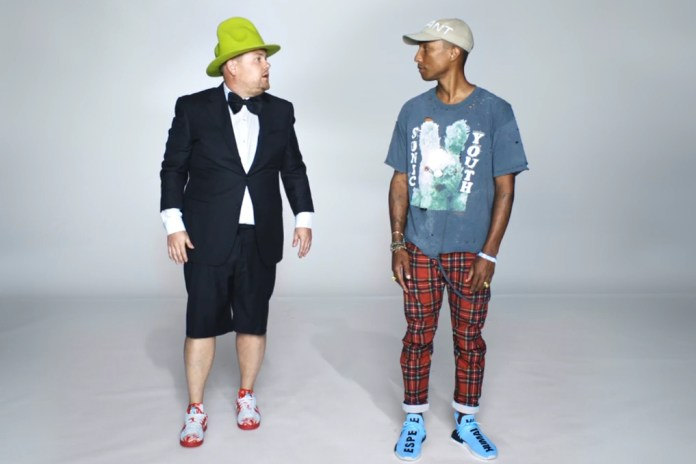 Pharrell Makes an Appearance in the Latest Apple Music Ad