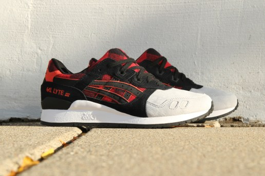 ASICS Brings Buffalo Plaid Flannel to the GEL-Lyte III
