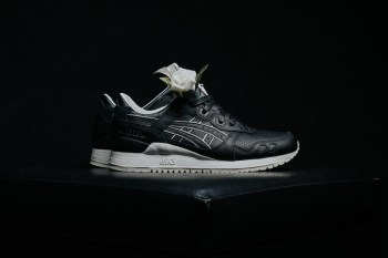 The ASICS GEL-Lyte III Gets a Tuxedo-Inspired Makover