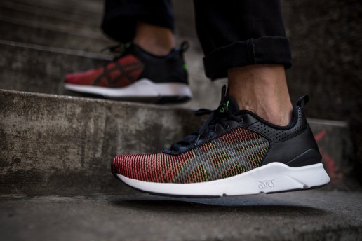 """An On-Feet Look at the ASICS Tiger™ """"CHAMELEOID MESH"""" Pack Which Lives up to Its Name"""