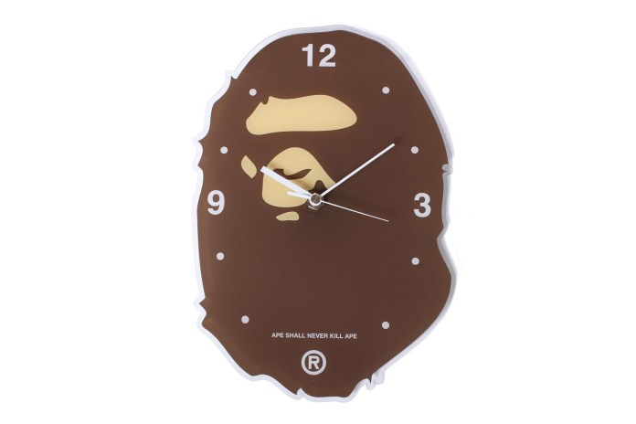 A Bathing Ape Releases an Ape Head Wall Clock