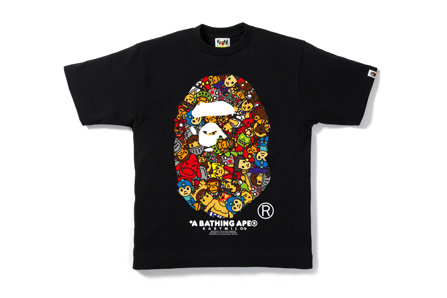 A Bathing Ape Teams up With CAPCOM for a Retro-Inspired Collection